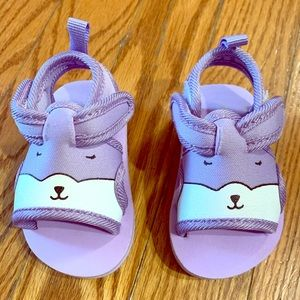 Other - NEW Purple Bunny Infant Girl Sandals